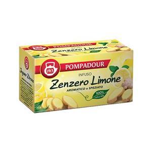 5966 - Pompadour Infuso Zenzero E Limone Pz.20