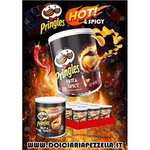 PRINGLES HOT & SPICY GR.40 PZ.12