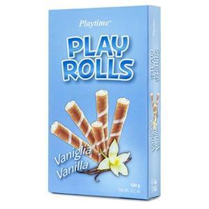 Playtime Rolls Vaniglia Gr.150