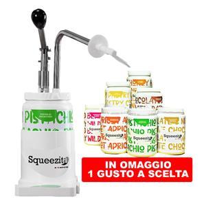 Promo 1 Dispenser Squeezita Con 1 Crema Da 2Kg iin Omaggio