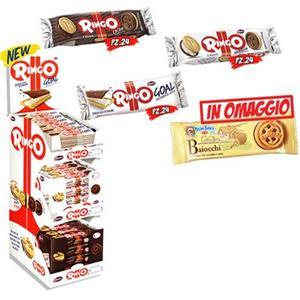 5584 - Promo Pavesi Pz.114 Ringo Cacao Pz.24 Ringo Vaniglia Pz.24 Ringo Goal Pz.24 Baiocchi Pz.42 Omaggio
