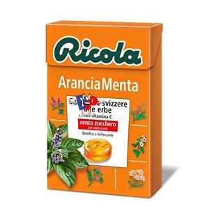 RICOLA ARANCIA MENTA PZ.20