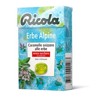 Ricola Erbe Alpine Gr.50 Pz.20
