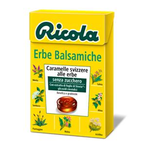 Ricola Erbe Balsamiche Gr.50 Pz.20