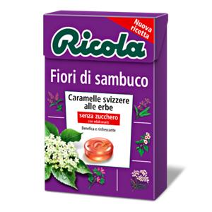 896 - Ricola Fiori Di Sambuco Gr.50 Pz.20