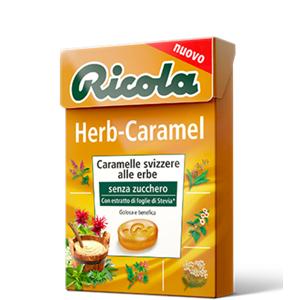 2998 - Ricola Herb-Caramel Gr.50 Pz.20