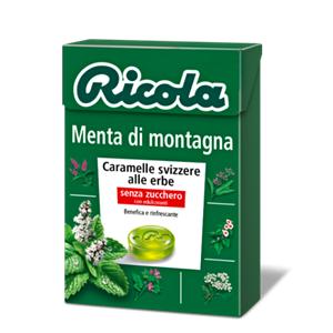 RICOLA MENTA MONTAGNA PZ.20