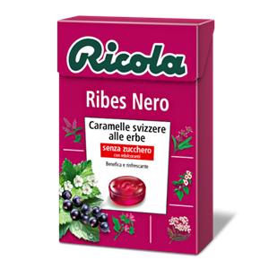 Ricola Ribes Nero Gr.50 Pz.20