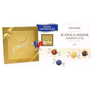 SCATOLA LINDOR ASS. GR.475
