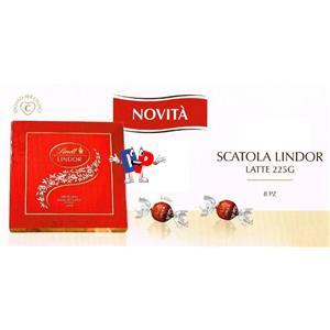 2741 - SCATOLA LINDOR LATTE GR.225 €.10.00