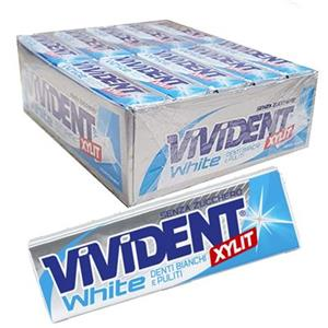 Stick Vivident White Peppermint Pz.40