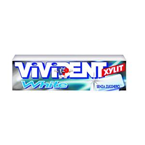 1337 - STICK VIVIDENT WHITE PEPPERMINT PZ.40