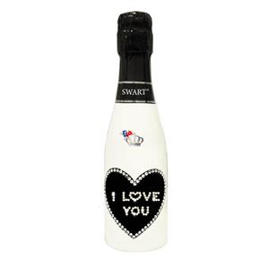 4842 - SWART BOMBONIERA BLACK I LOVE YOU CL.20