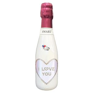 4845 - SWART BOMBONIERA ROSA I LOVE YOU CL.20