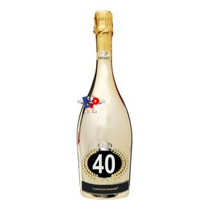 SWART SWAROVSKI GOLD 40 CL.75
