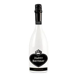 SWART SWAROVSKI WHITE HAPPY BIRTHDAY CL.75