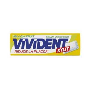 6604 - Stick Vivident Yellow Fruit Pz.40