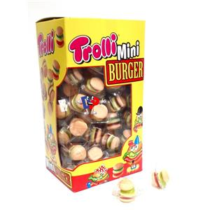TROLLI MINI BURGER DISP. PZ.100