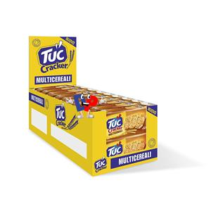 4373 - TUC CRACKERS MULTICERALI PZ.20