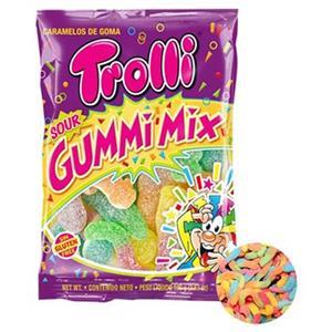 Trolli Sour Gummi Mix Zuccherata Busta Gr.100 Pz.12