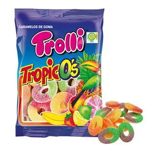 Trolli Tropico's Zuccherata Busta Gr.100 Pz.12