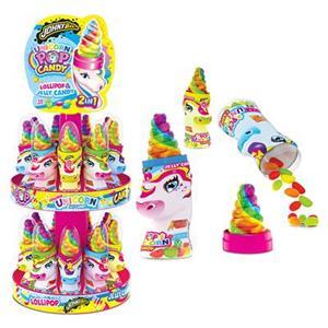 6028 -  Unicorn Pop&Candy Stand Gr.25 Pz.18