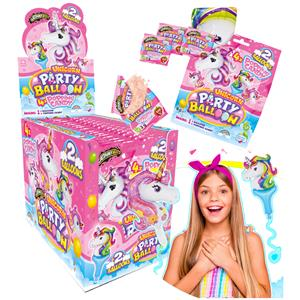 Unicorn Party Balloon Popping Candy Gr.8 Pz.16
