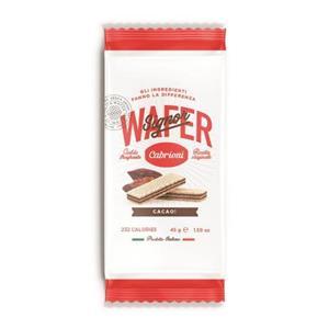 4165 - Wafer Cabrioni Cacao Gr.45 Pz.20