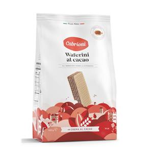 Waferini Cabrioni Cacao Gr.400