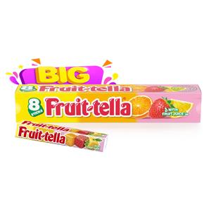 6039 -  Fruittella Maxi Stick Gusto Frutta Gr.41 Pz.8
