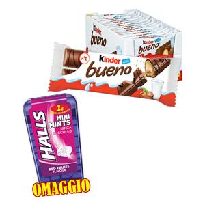 6009 -  PROMO KINDER BUENO T.6 PZ.30 +  HALLS MINI MINT RED PZ.12