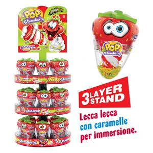6579 -  Pop Strawberry Dip & Lick Gr.648 Pz.24